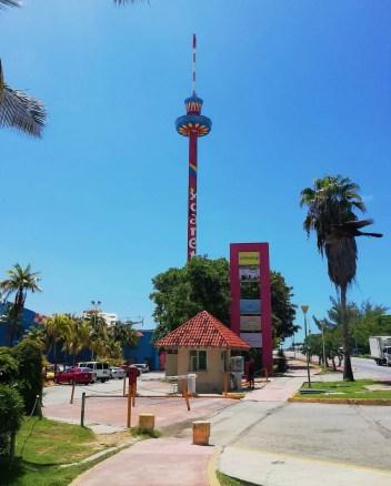 Torre Escénica de Cancún.
