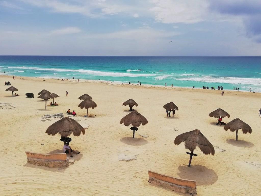 Playa Delfines, Cancún.