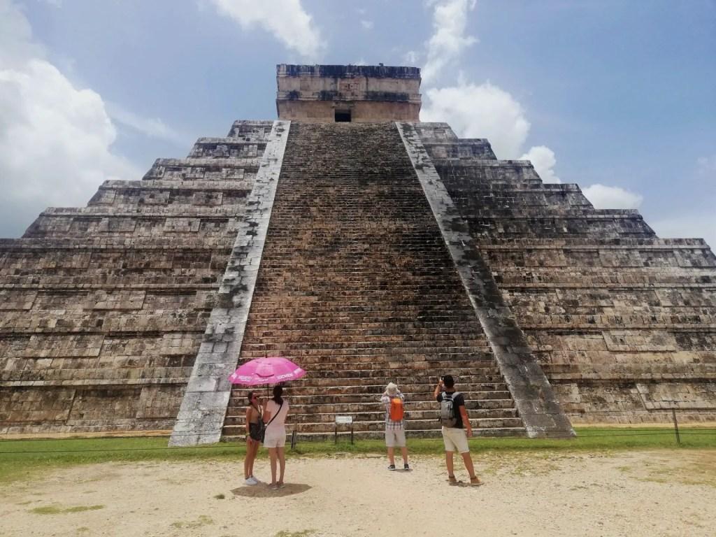 Viajar sola a México: Chichén Itzá.
