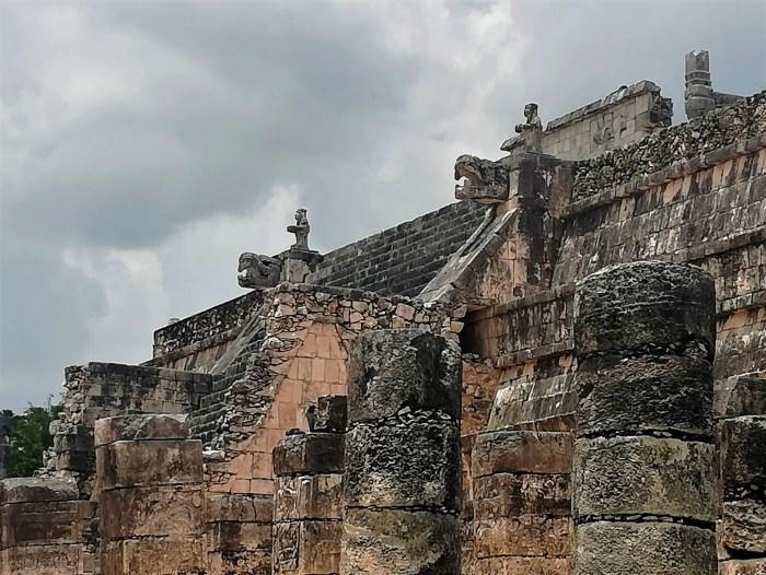 Templo de los Guerreros de Chichén Itzá.