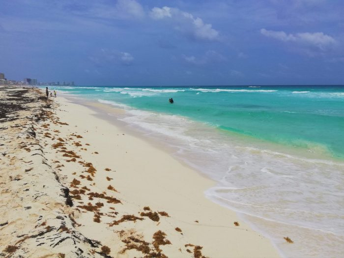 Playa Marlín, una de las 5 playas imperdibles de Cancún