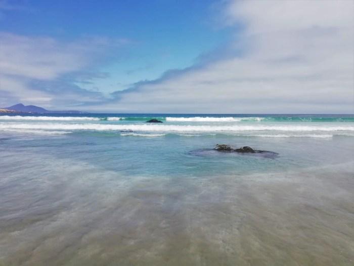 Playa Totoralillo de Coquimbo.