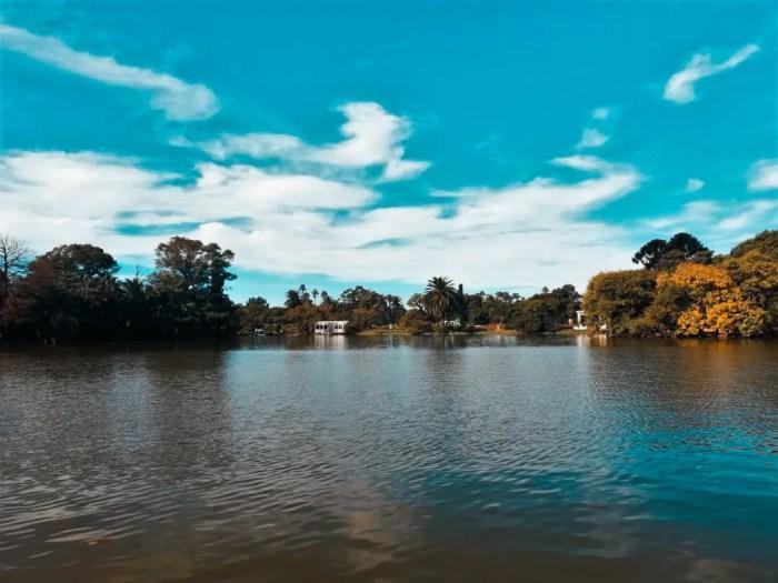 Lago del Parque 3 de Febrero.