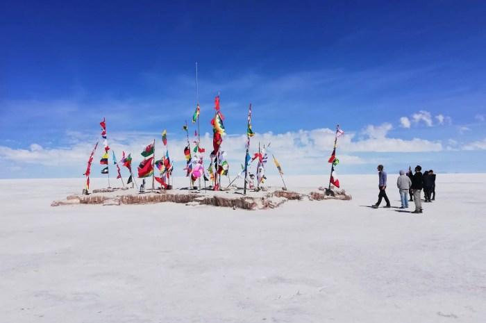 Monumento a las banderas, Uyuni.