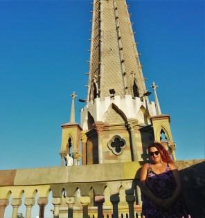 Foto en la Iglesia de Los Capuchinos.