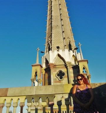 Foto en la Torre de la Iglesia de los Capuchinos de Córdoba.