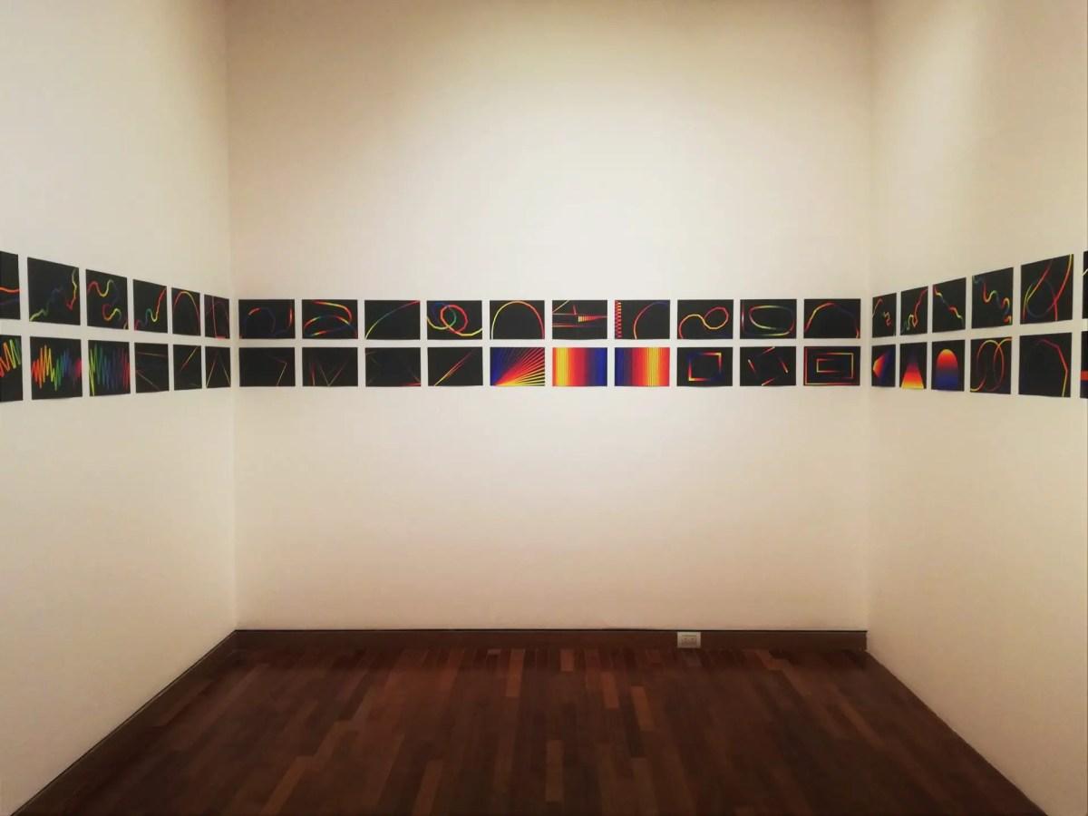 Colores en el museo.