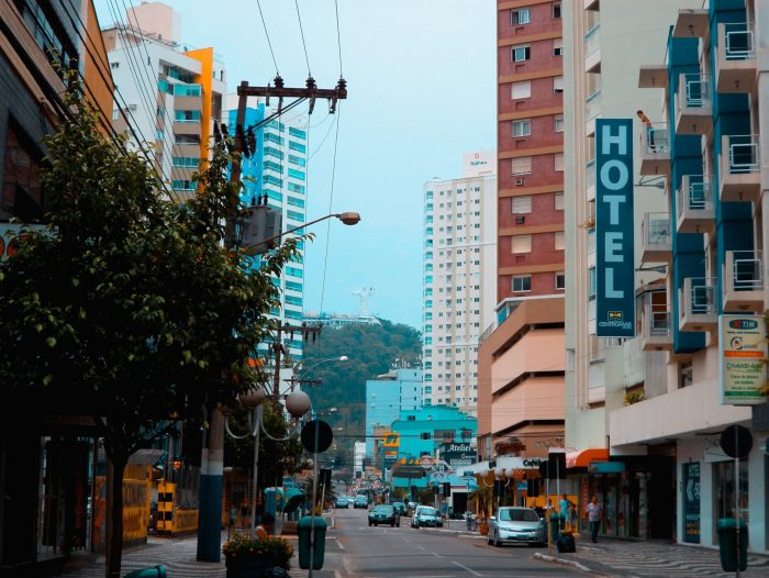 Centro Comercial de Balneário Camboriú.