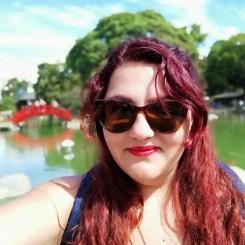 Selfie en el Jardín Japonés.