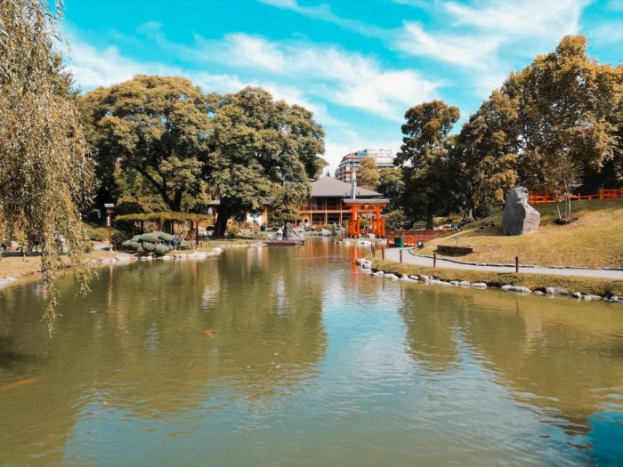 Jardín Japonés en Argentina.