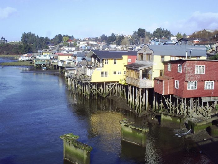 Palafitos de Chiloé.