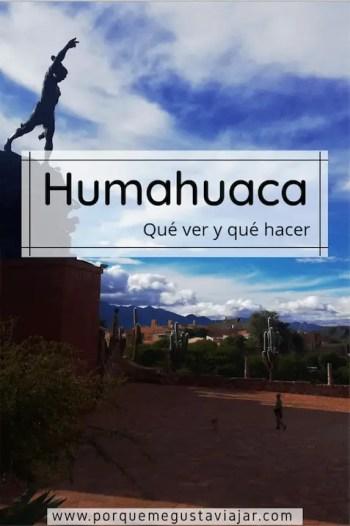Pin de qué ver en Humahuaca.