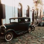 Autos antiguos de Uruguay.