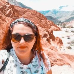 Foto en el Paseo de Los Colorados.