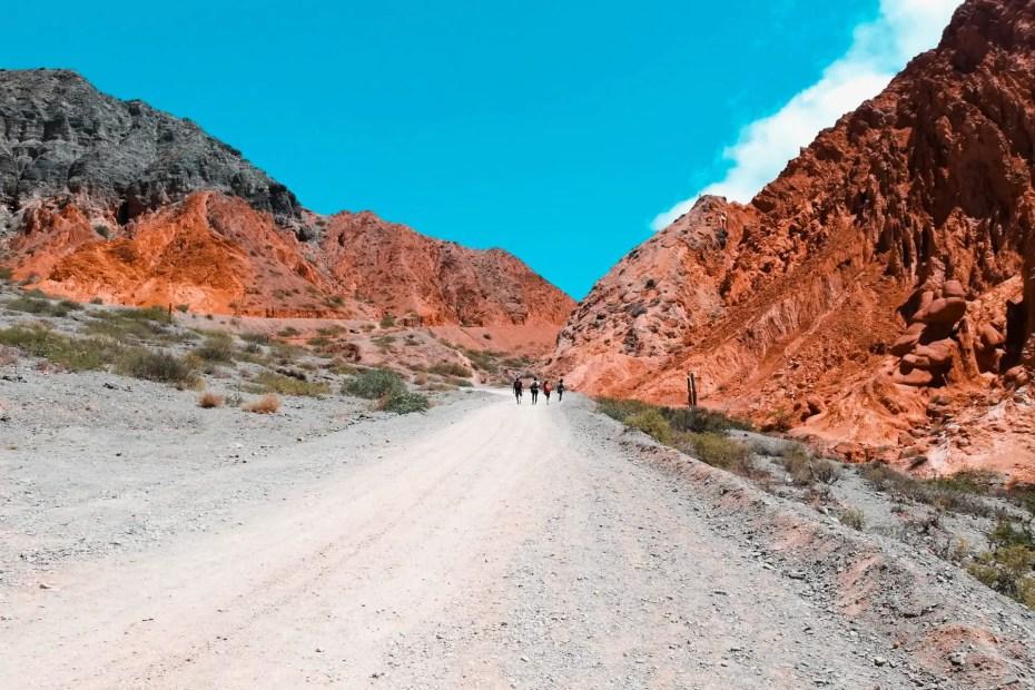 Trekking Los Colorados.