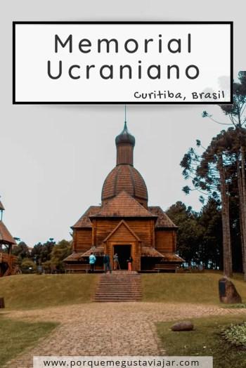 Pin memorial ucraniano de Curitiba.