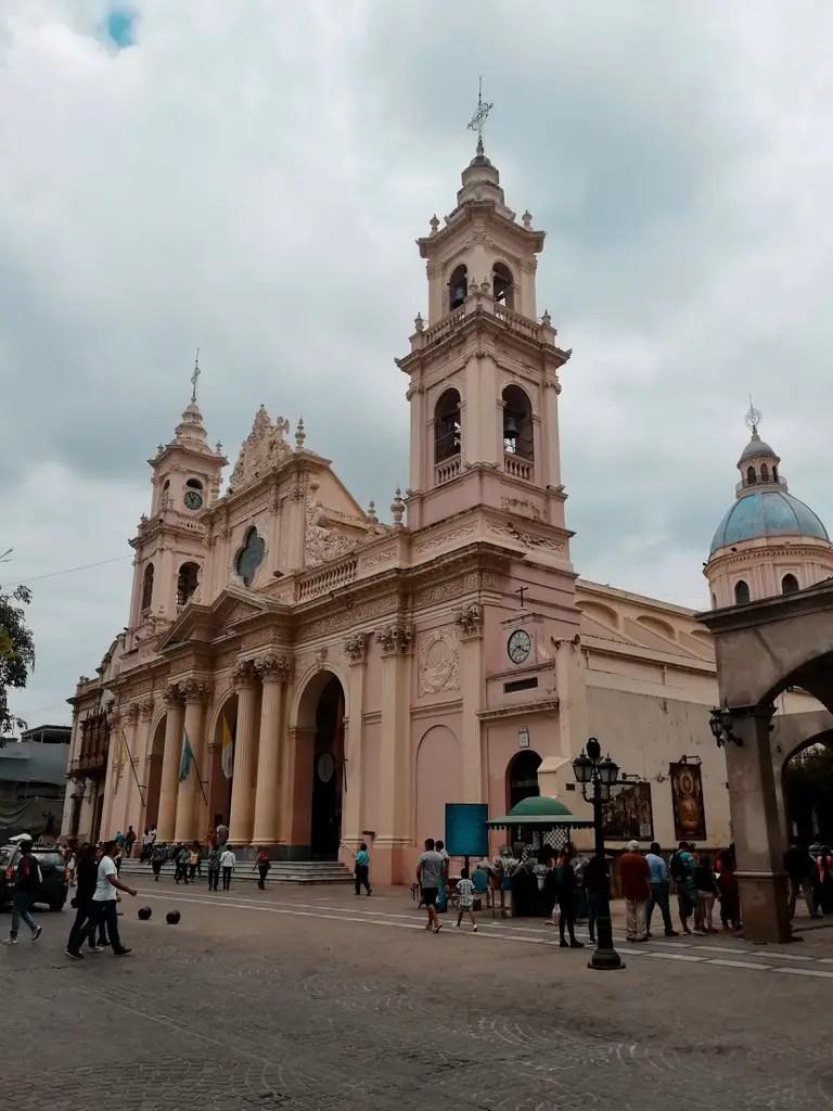 Catedral Basílica de Salta.