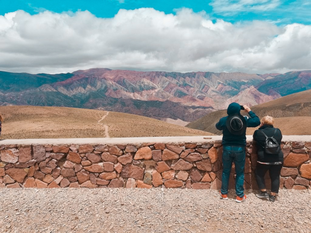 Foto de viaje en el Hornocal.