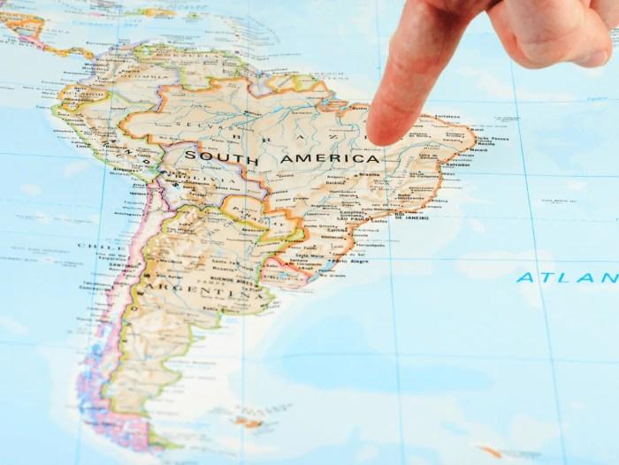 Tours gratuitos en Sudamérica.