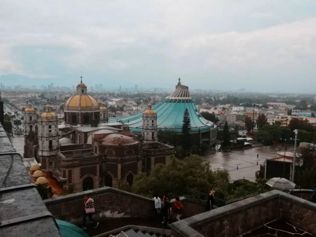 Basilica de la Virgen de Guadalupe.