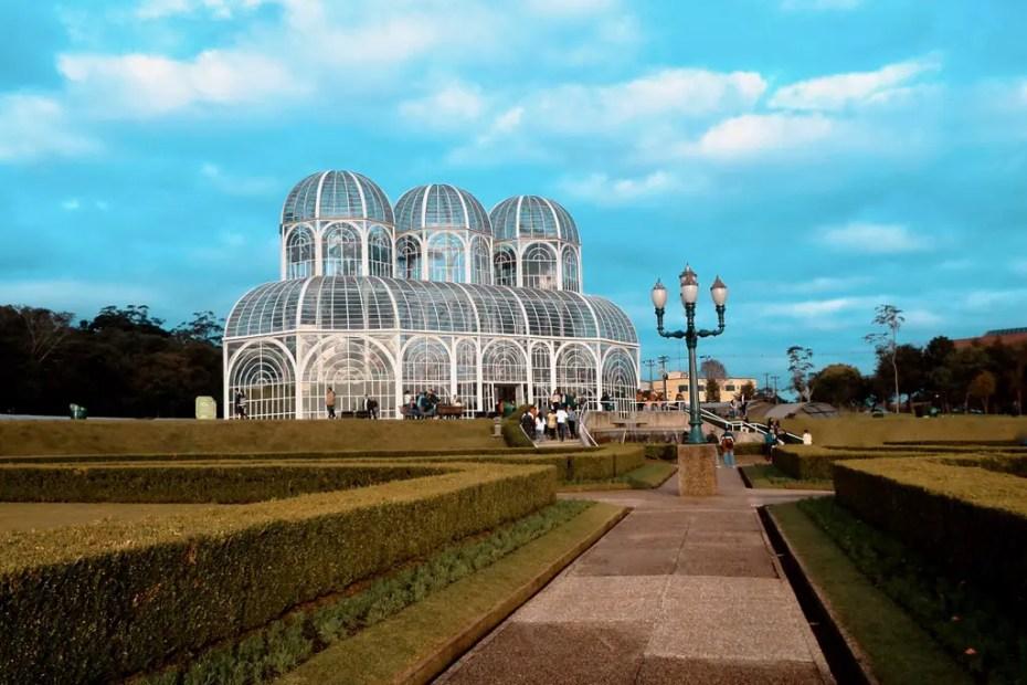 Invernadero del Jardín Botánico de Curitiba.