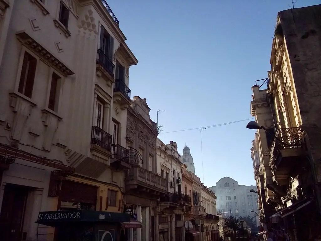 Uruguay en 10 días: Calles del Centro de Montevideo.