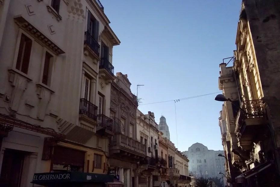 Calles de Montevideo.