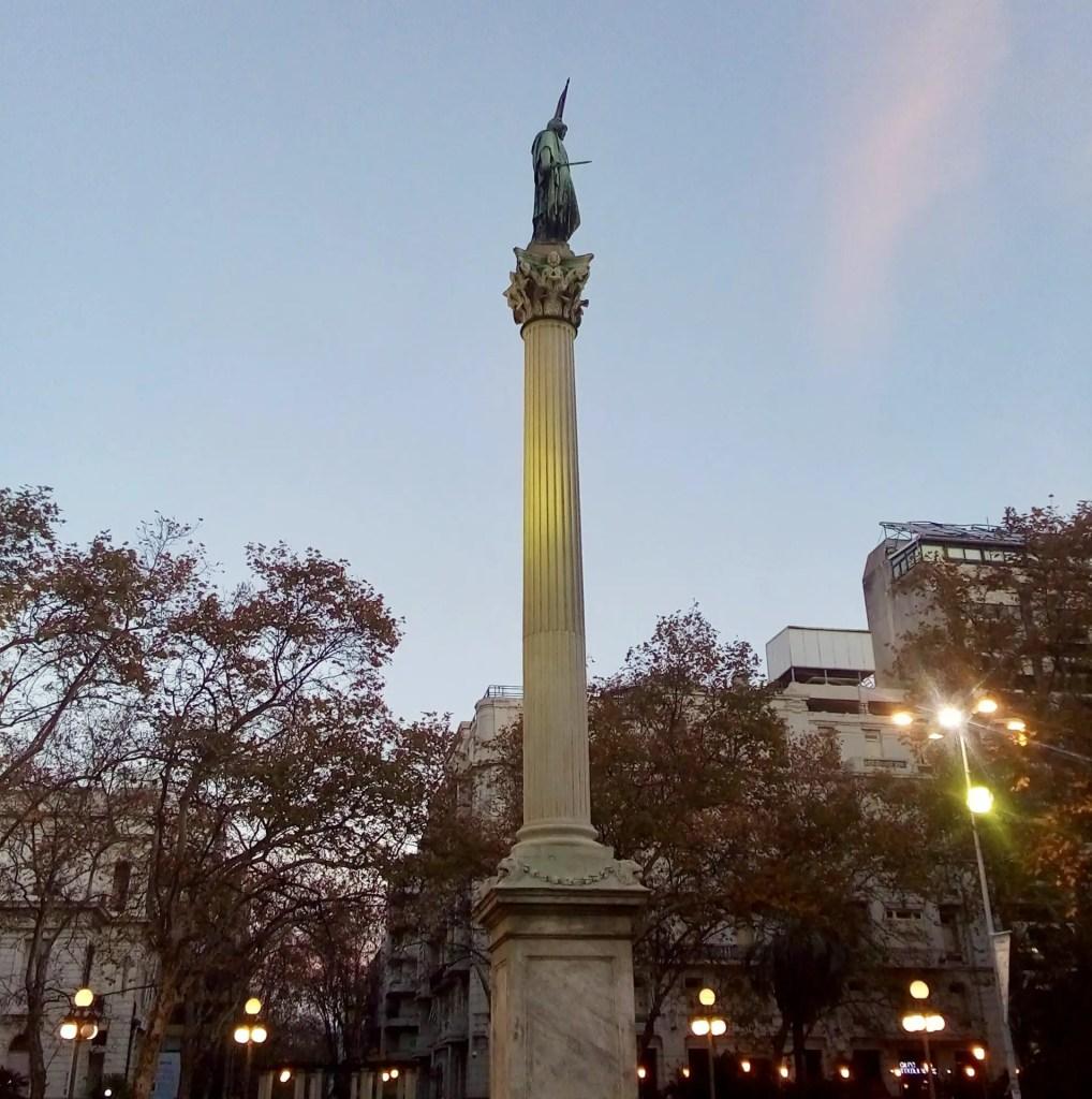 Plaza Cagancha.