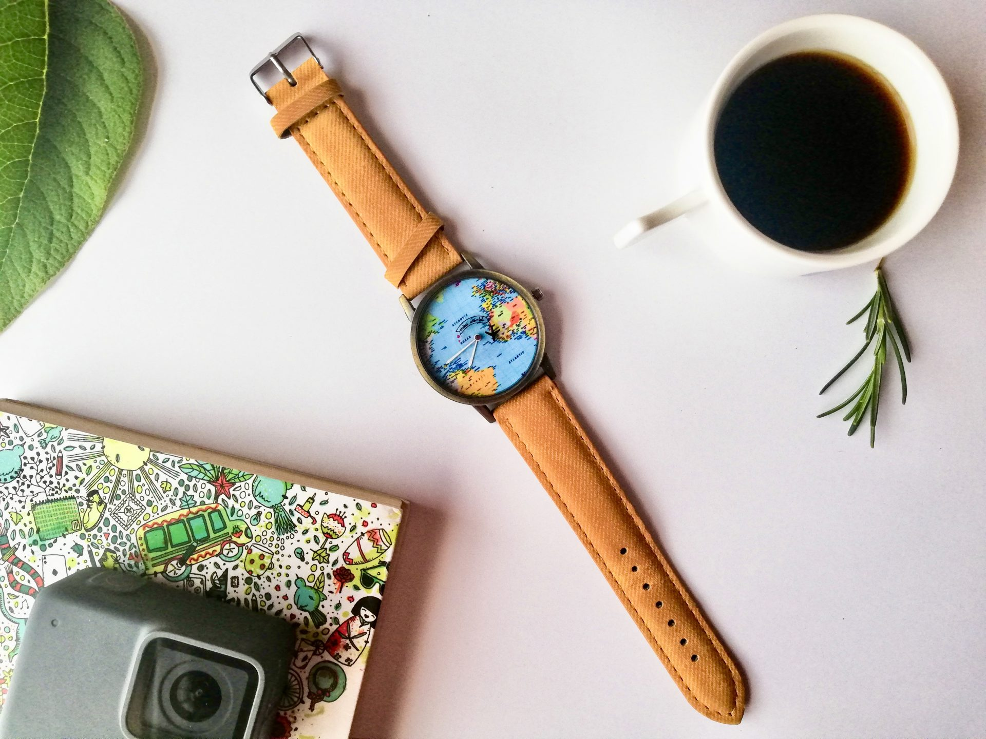 Reloj regalo para viajeras.
