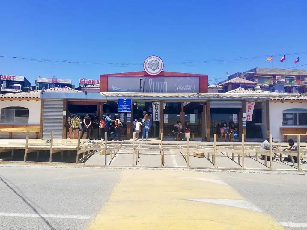 Restaurantes de El Suizo.