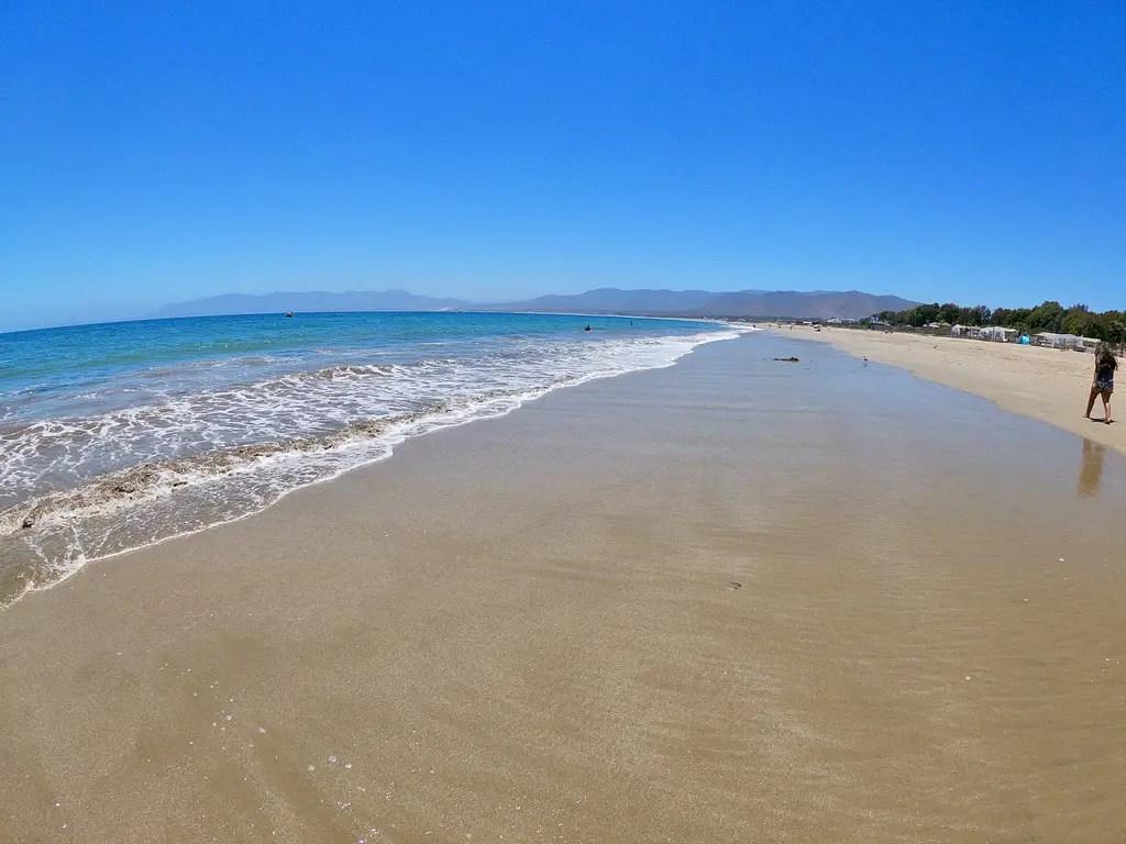 Playa Guanaqueros.