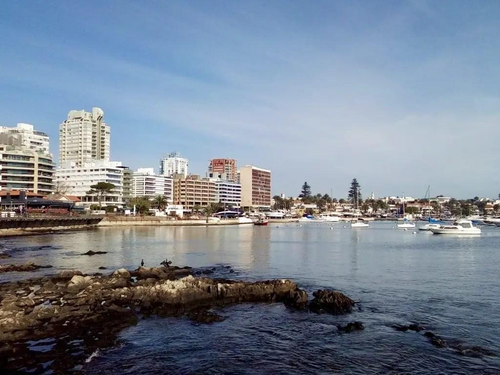 Puerto de Punta del Este.
