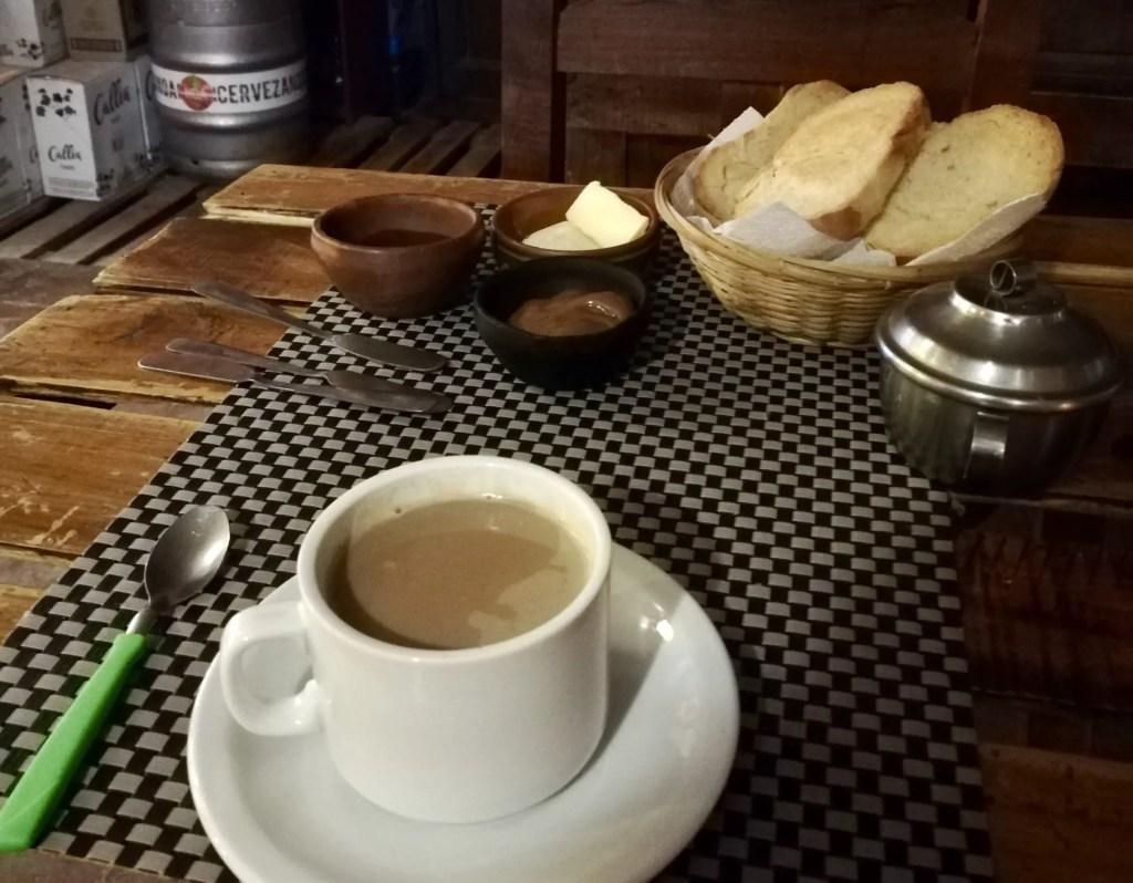 Al quedarse en un hostel aveces tendrás desayuno incluido.