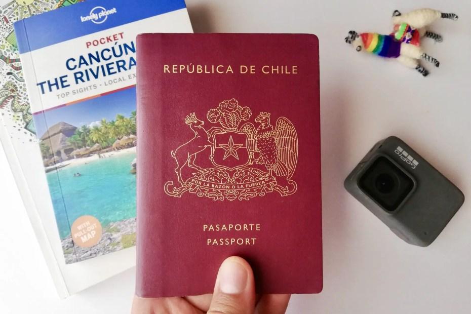 viajar sin visa con el pasaporte chileno.