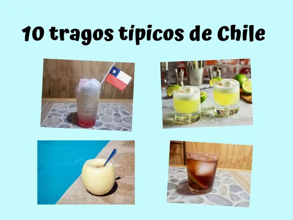 Tragos típicos de Chile que tienes que probar.