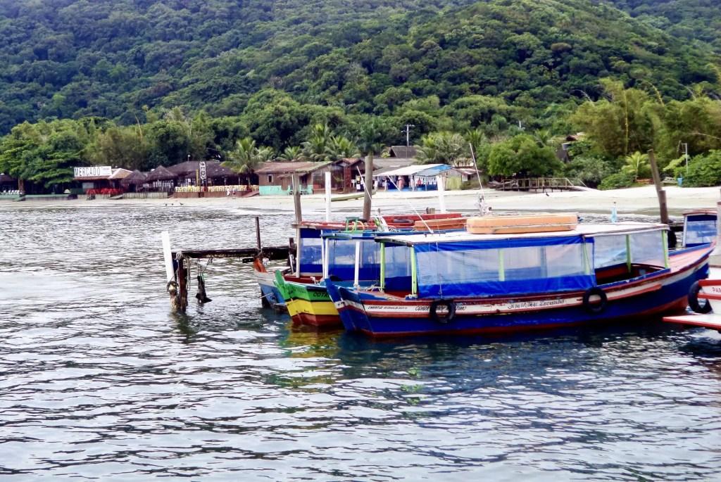 Embarcadero de la Ilha do Mel.