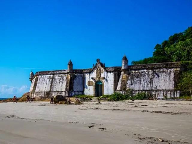 Fortaleza de Ilha do Mel.