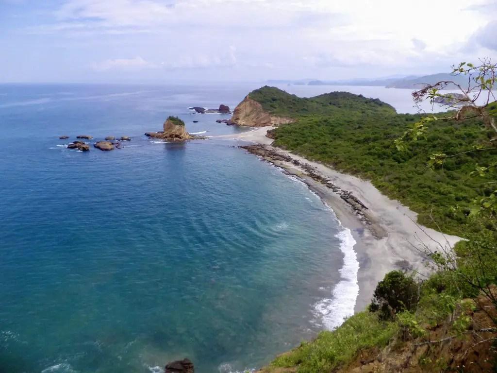 Playa de los Frailes, Ecuador.
