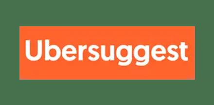Logo de Ubersuggest.