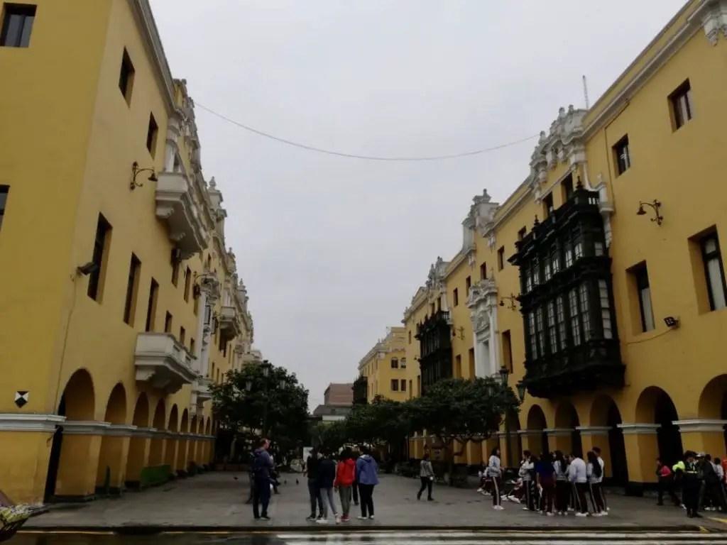 Centro Histórico de Lima.