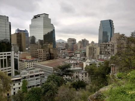 Edificios de Santiago de Chile.
