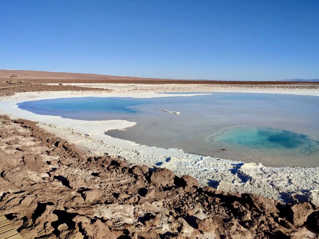Lagunas Baltinache, San Pedro de Atacama.