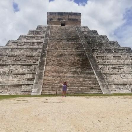 Foto en Chichén Itzá, México.