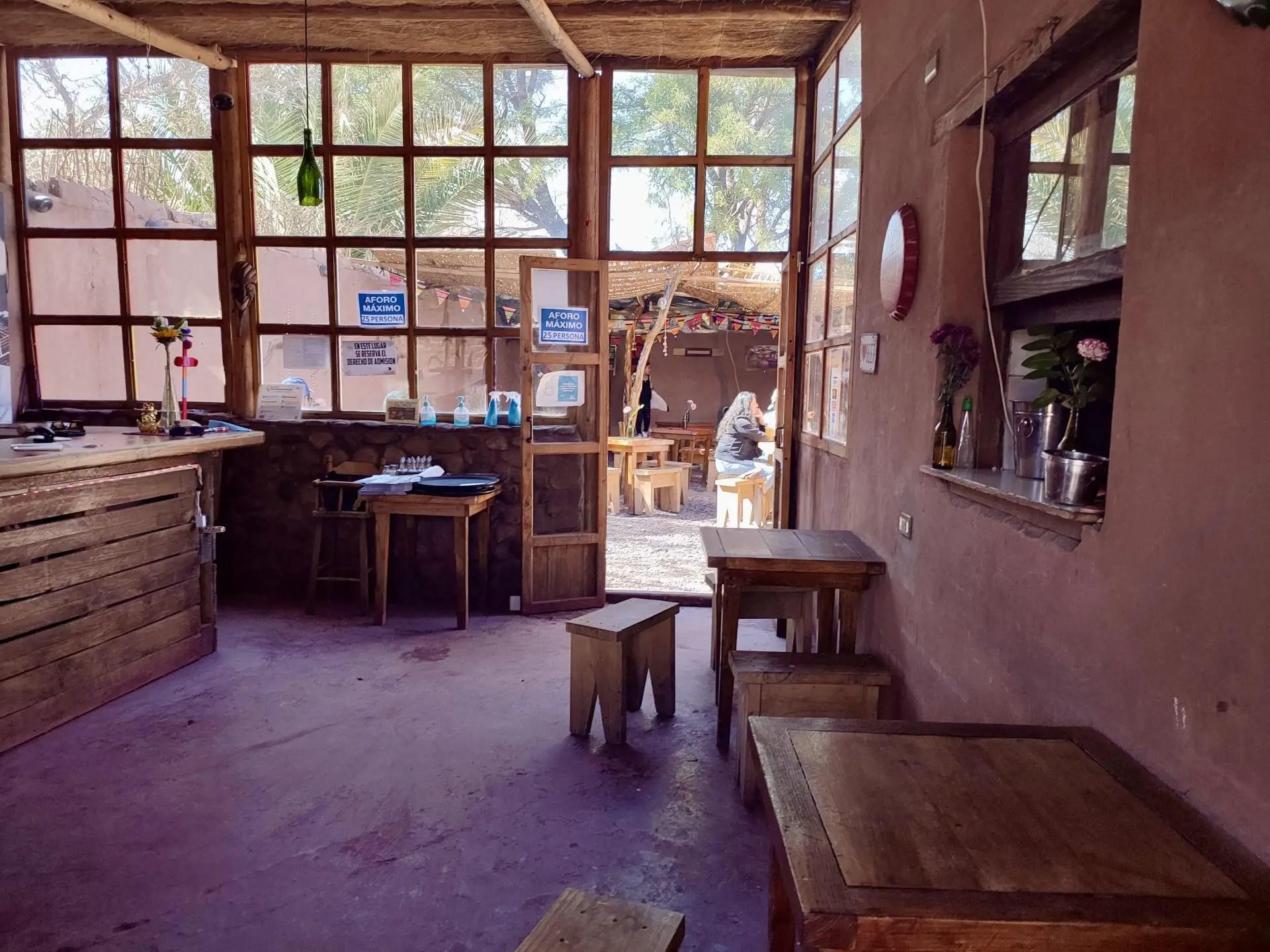 Restaurante Los Gor2 San Pedro de Atacama.