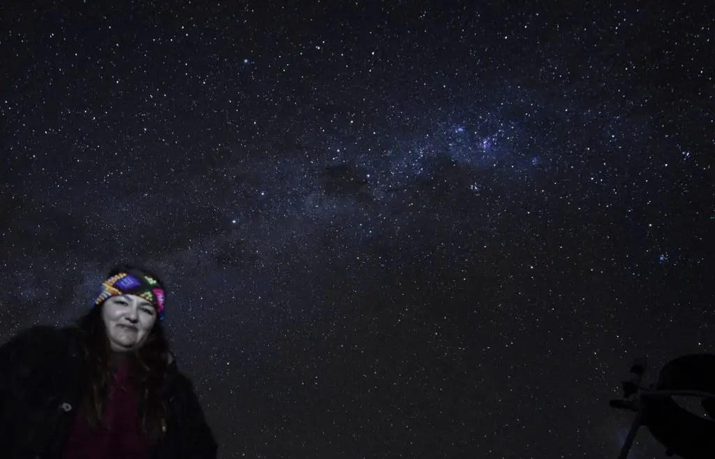 Tour astronómico en San Pedro de Atacama.