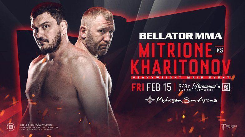 Bellator 215 - Matt Mitrione x Sergei Kharitonov