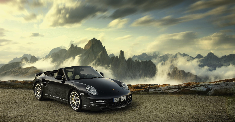 Rs 3d Name Wallpaper 2011 Black Porsche 911 Turbo S Cabriolet Wallpapers