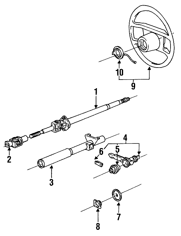 1984 Porsche 928 Clockspring. Steering Wheel CONTCT RING