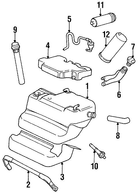 1982 Porsche 928 Fuel Pump Strainer. Wont, Start, Filters