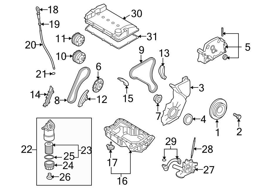 Porsche Cayenne Adjuster. Timing. CAMSHAFT. Engine. GEAR